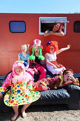 Mobiler Zirkus - p045m1044820 von Jasmin Sander