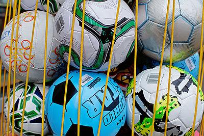 Variety of footballs on sale - p1578m2278101 by Marcus Hammerschmitt