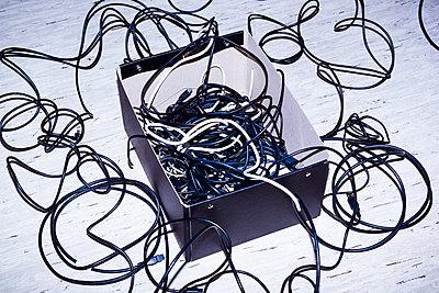 Aufbewahrung von Kabeln - p1149m2197075 von Yvonne Röder
