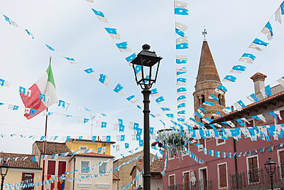 Marktplatz in Italien - p1308m2126701 von felice douglas