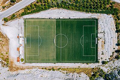 Football field, Zakynthos, Greece - p713m2289186 by Florian Kresse
