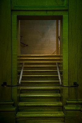 Symmetrical staircase - p1170m2145247 by Bjanka Kadic