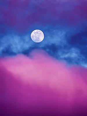 Moody moon - p1543m2260606 by Sophia Snadli