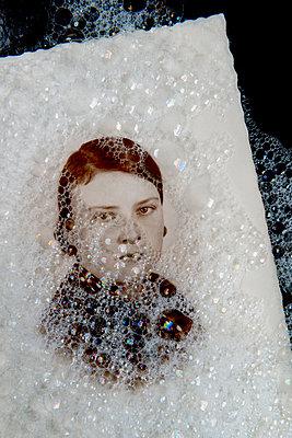 Washing memories away - p451m2286174 by Anja Weber-Decker