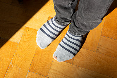 Sock with a hole - p454m2222868 by Lubitz + Dorner