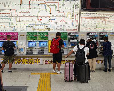 Subway in Tokyo - p133m2030964 by Martin Sigmund