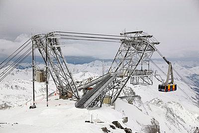 Ski lift construction - p312m799329f by Per Eriksson