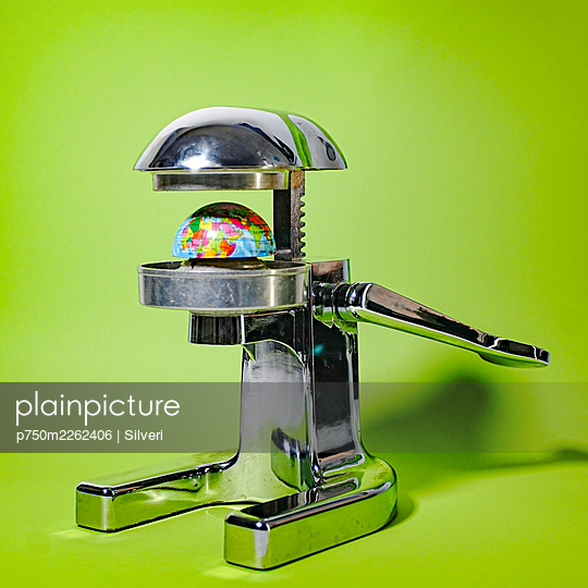 Juice squeezer and globe - p750m2262406 by Silveri