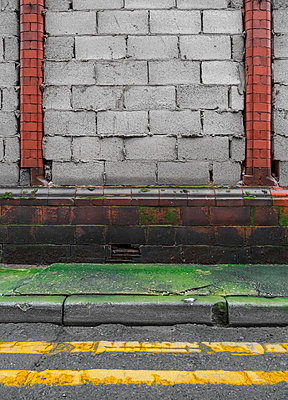 bricked up building - p1280m1203191 by Dave Wall