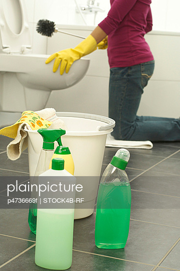 Cleaning lady - p4736669f by STOCK4B-RF