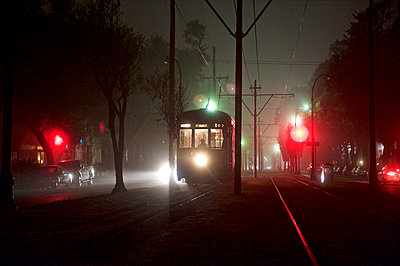 A streetcar in New Orleans - p343m1168466 by Marc Pagani