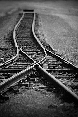 Eisenbahnschienen - p992m2134018 von Carmen Spitznagel