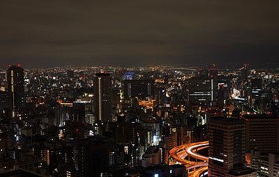 Tokyo at night - p1397m2054678 by David Prince