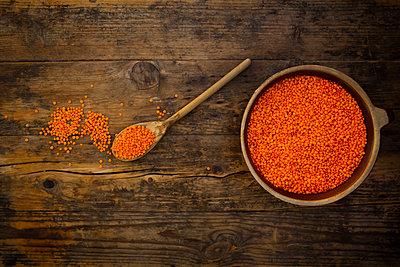 Rote Bio-Linsen - p300m2160208 von Larissa Veronesi