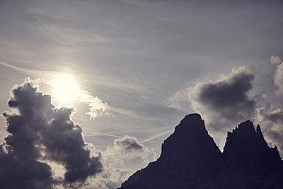 Wolken über den drei Zinnen - p1305m1138629 von Hammerbacher
