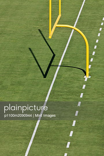 Football Goal Post - p1100m2090944 by Mint Images