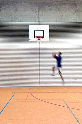 Basketballer - p3450281 von Rainer Gollmer