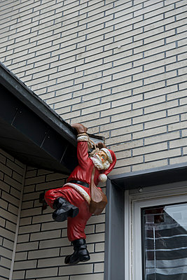 Weihnachtskletterer - p1164m956368 von Uwe Schinkel