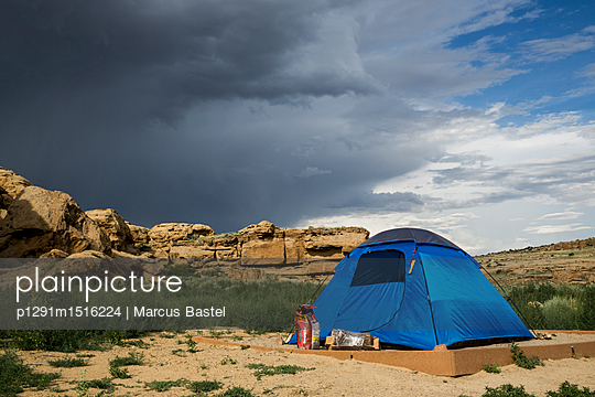 Camping - p1291m1516224 by Marcus Bastel