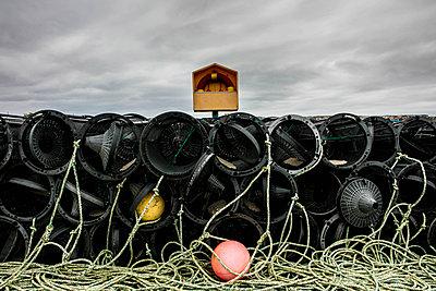Fangkörbe für Hummer - p1082m1586460 von Daniel Allan