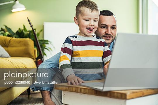 deutschland,mannheim,lifestyle,people,family,zuhause - p300m2286940 von Uwe Umstätter