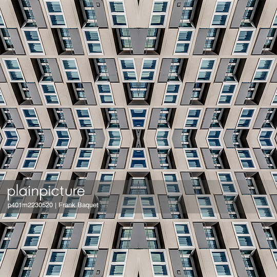 Abstract Architecture Kaleidoscope Cologne - p401m2230520 by Frank Baquet