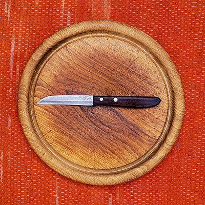 Küchenbrett und Messer - p2200153 von Kai Jabs