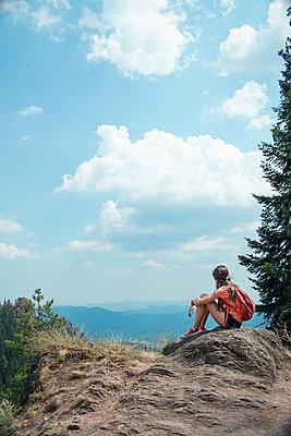 Girl in the mountains - p1432m2273297 by Svetlana Bekyarova