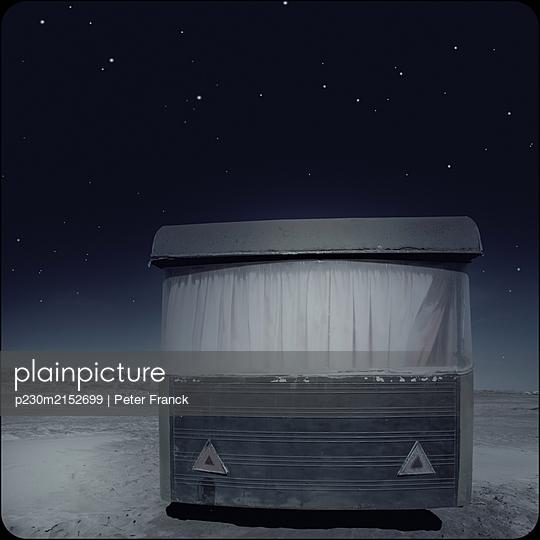 Caravan at night - p230m2152699 by Peter Franck
