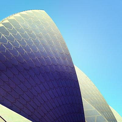 Australien, Sydney, Dach des Opernhauses - p1154m2289151 von Tom Hogan