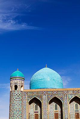 Tillya-Kori Madrasah, Registan ensemble, city of Samarkand - p590m2064900 by Philippe Dureuil