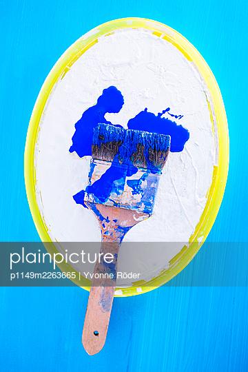 Paintbrush - p1149m2263665 by Yvonne Röder