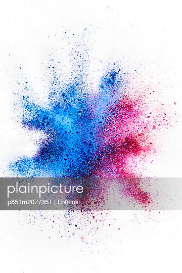 Farbkleckse - p851m2077351 von Lohfink