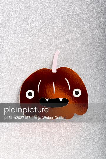Papierkürbis - p451m2027157 von Anja Weber-Decker