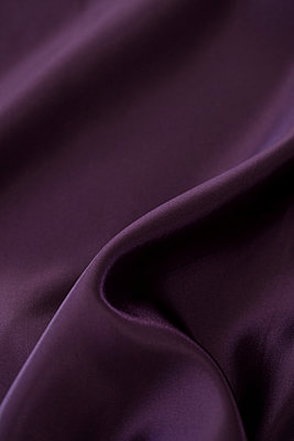 Purple silk - p495m906987 by Jeanene Scott