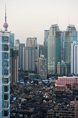 Shanghai cityscape - p9246157f by Image Source