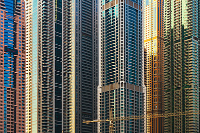 High-rises in Dubai - p1575m2209359 by thomas kohnle