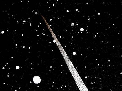 Schneefall - p558m881835 von A.da Cunha