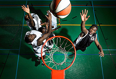 Basketball players - p9249785f by Image Source