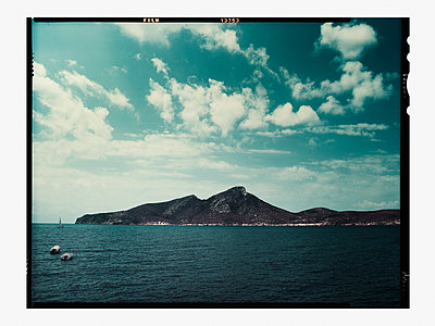 Rocky coast of Mallorca island - p1342m1332648 by Sebastian Burgold