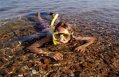 Schnorcheln im seichten Wasser - p2200131 von Kai Jabs