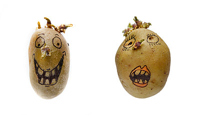 Potato art - p342m970623 by Thorsten Marquardt