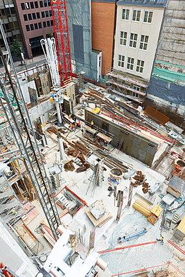 Building site, Frankfurt am Main - p1203m1028519 by Bernd Schumacher