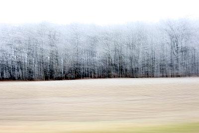 Blick aus dem Autofenster - p1258m1538716 von Peter Hamel