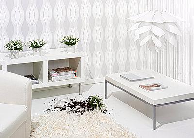 Zimmer in weiß - p1348m1215671 von HANDKE + NEU