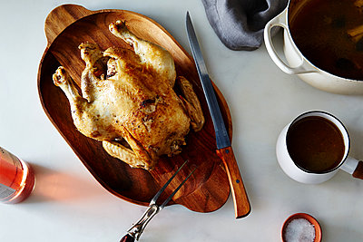 Braised Chicken with Ginger and Orange - p1379m1487933 by James Ransom