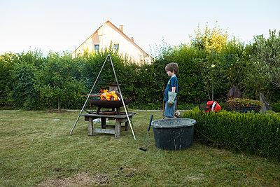 Faszination Feuer  - p454m2293062 von Lubitz + Dorner