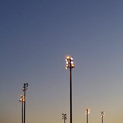 Stadium Lights II - p694m872028f by Glasshouse