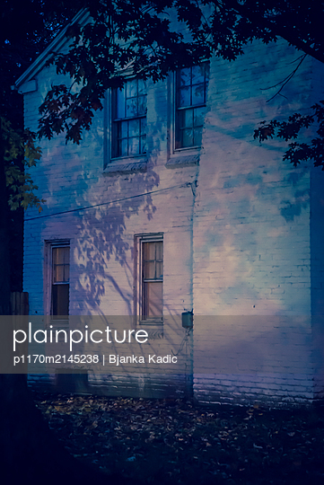 House at night - p1170m2145238 by Bjanka Kadic