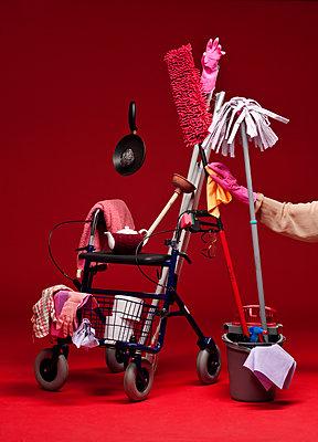 Elderly care - p801m2065389 by Robert Pola